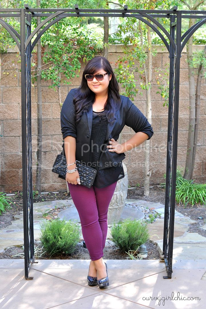 Curvy Girl Chic Plus Size Fashion Blog Torrid Stiletto Skinny Jeans Review