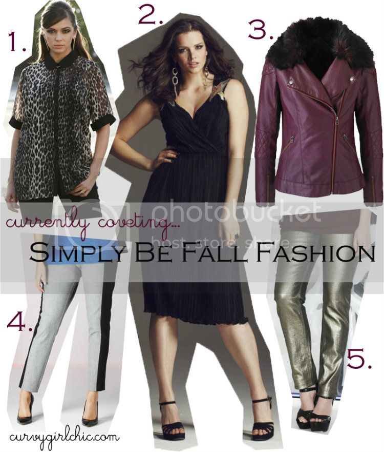 Simply Be Fall Fashion Picks from CurvyGirlChic.com