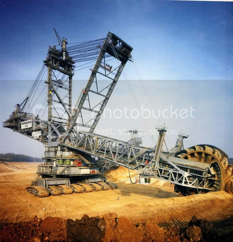 Krupp Bucket Wheel Escavator